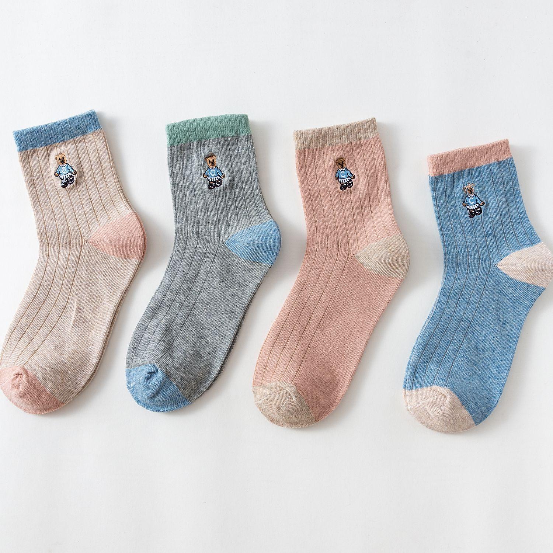 Embellished socks