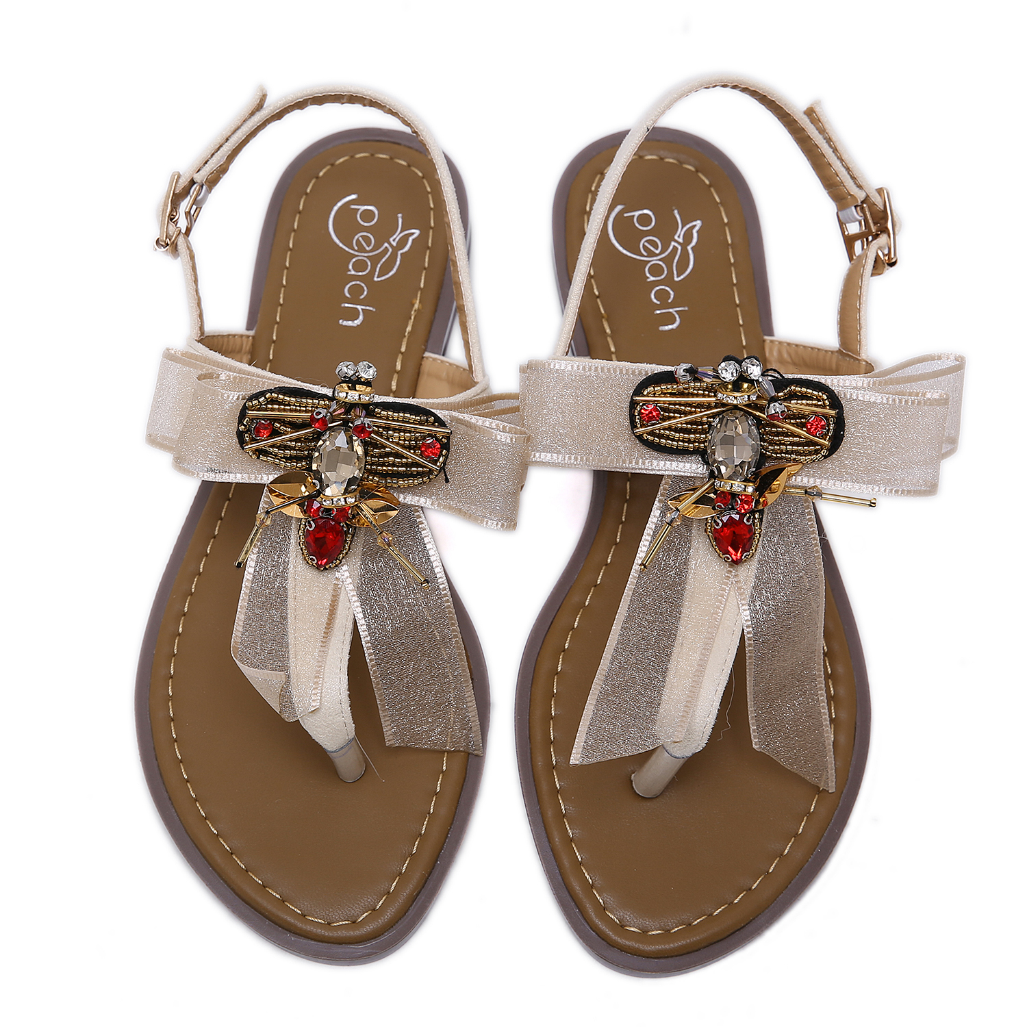 Embroidered sandals NEW