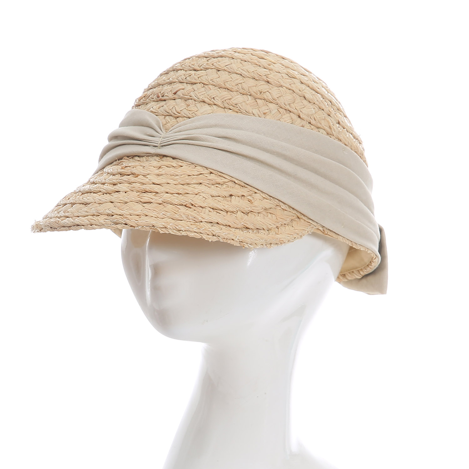Straw beach hats