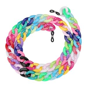 SC001 Chunky Sunglasses Chain Multicoloured