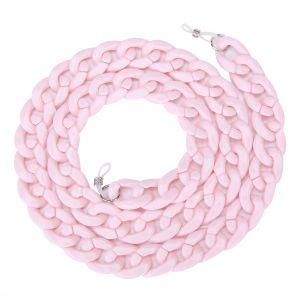 SC001 Chunky Sunglasses Chain Baby Pink