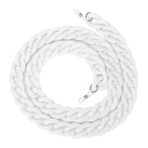 SC001 chunky Sunglasses Chain White