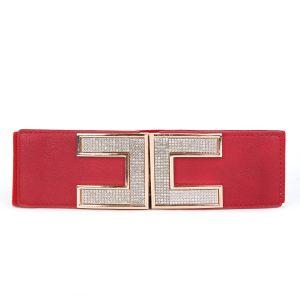 BEL021 Red H buckle