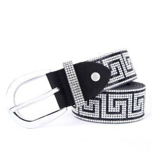 BEL008 Black Silver squares