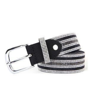 BEL010 Black/Silver stripes