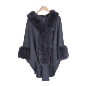 PE205 Grey with Fur Down Centre