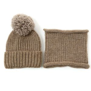 SD73 hat and snood set in Khaki