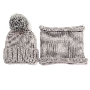 SD73 Hat and snoods set Silver Grey