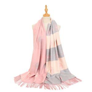 HUA047 Dandelion Pink/Cream/Grey