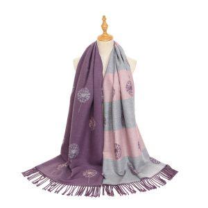 HUA047 Dandelion Purple/Pink/Grey