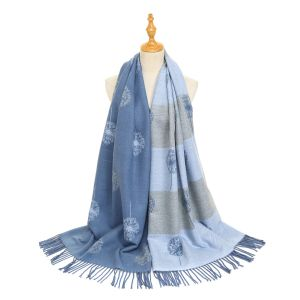 HUA047 Dandelion Light blue/Grey