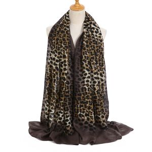 TT307 Dark Brown leopard