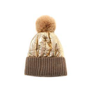 SD57 Duvet puffer hat in Gold