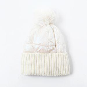 SD57 duvet puffer hat in White