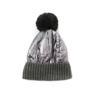 SD57 Duvet puffer hat in Pewter
