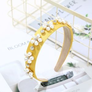 HACH215 Yellow Pearl Flowers