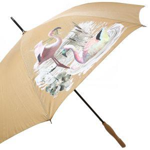 1802 colour change umbrella Gold flamingos