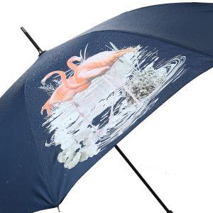 1802 colour change umbrella Navy flamingos