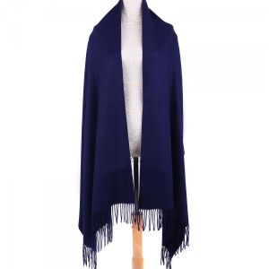 Autumn Pashmina in Navy
