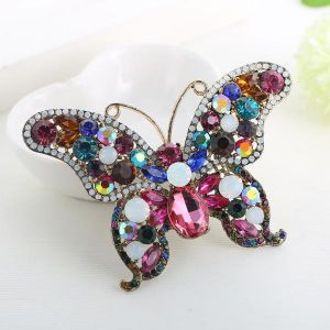 8865 Multi colored butterfly
