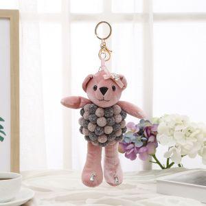 B14 Pom Pom Bear Baby Pink