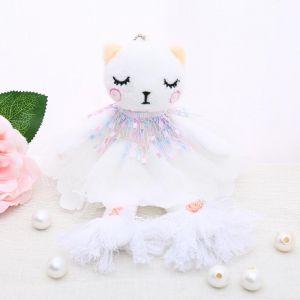 B42 Multi colour dress rag doll small
