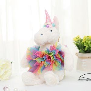 B50 Large rainbow dress unicorns