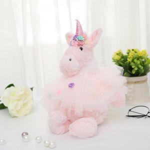 B51 Cream unicorn with feather jacket large