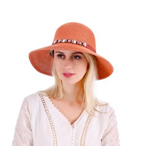 WH147 Tan Beach Hat