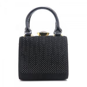 ZW60513 Black glitter general leather
