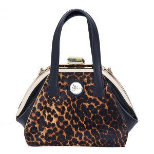 CD4076 pony skin Brown leopard print