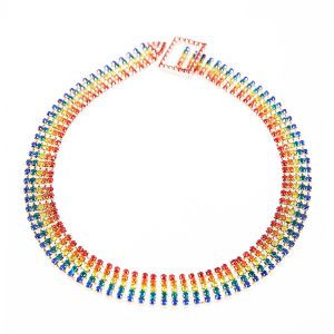 CK02 Multi Colour Choker
