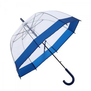 3466A Birdcage Domed Umbrella Navy