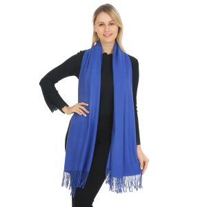 A001 Pashmina in Royal Blue