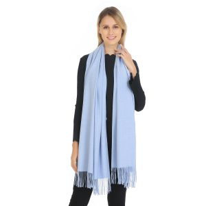 A001 Pashmina in Baby Blue