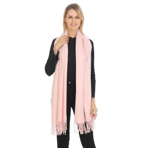A001 Pashmina in Baby Pink