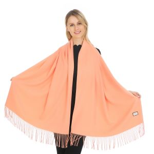 A001 Pashmina in Peach