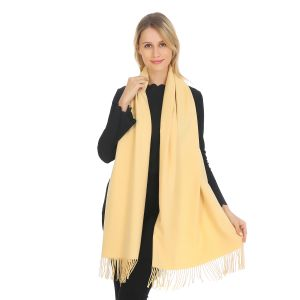 A001 Pashmina in Lemon