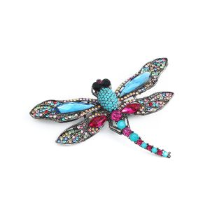 1521 diamante dragonfly in Blue
