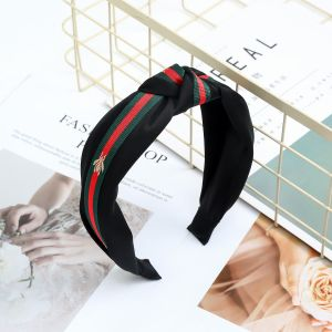 HA191 Black bee hair band