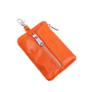 pur019 Orange key pouch