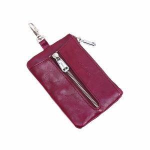 pur019 Raspberry key pouch