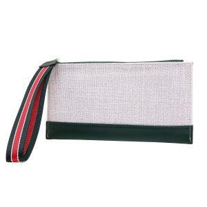 pur022 Black with multi coloured strap