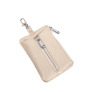 pur019 Beige key pouch
