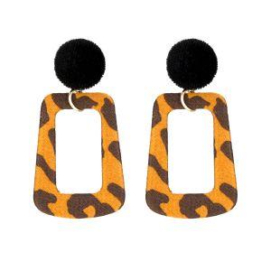 ER013 leopard Gold