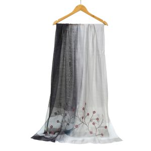 SK16 two tone silk silver/ Grey
