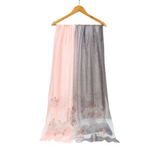 SK19 two tone silk  Pink / Silver