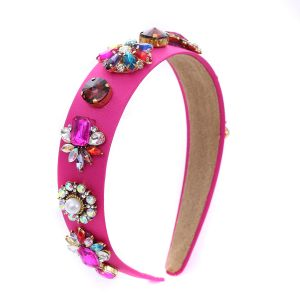 HACH120 Fuchsia  with jewelled crystal stones