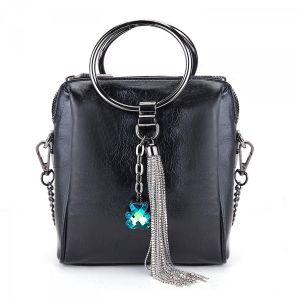 3129-2 Black leather
