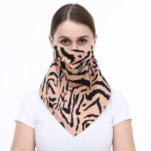 0014 Tan Zebra Print